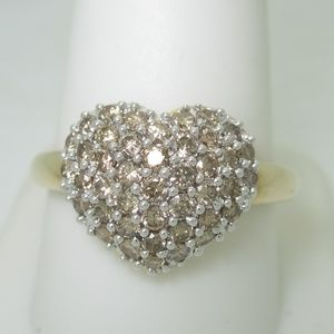 Jewelry - 14K Gold 1.50 ctw Natural Chocolate Diamond Ring